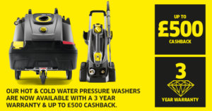 Karcher cashback offer