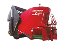 Triomix feed wagon