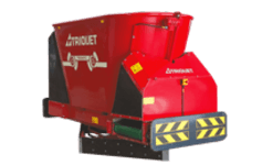 Triomatic feed wagon