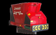 Triomatic feed wagon